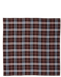 Castleford check silk scarf medium 5209656