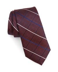 Nordstrom Veilleux Grid Silk Tie