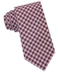 William Rast Silk Micro Check Tie