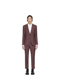 Hugo Burgundy Artihesten 193 Suit