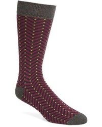 Ted Baker London Chevron Stripe Socks