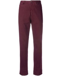 Pt01 Brushed Cotton Chino Trousers