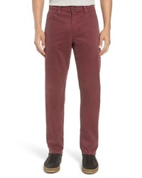 AG Everett Sud Print Slim Straight Leg Pants