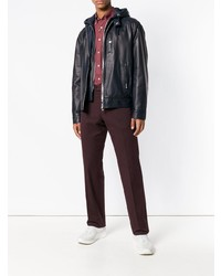 Canali Slim Fit Chino Trousers