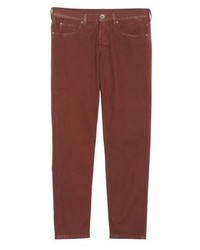 Eleventy Slim Fit Stretch Cotton Five Pocket Trousers