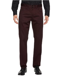 Perry Ellis Slim Sateen Five Pocket Chino Pants Casual Pants