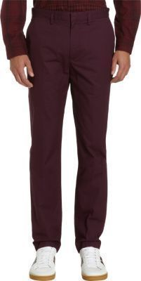 Marc by Marc Jacobs Slim Straight Chinos
