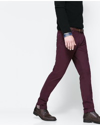Zara Chinos With Belt