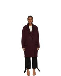 Isabel Marant Burgundy Filipo Coat