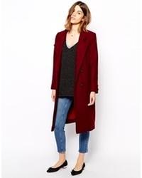 AsosFashion From Women's Women's Coats Burgundy 76byIYfmvg