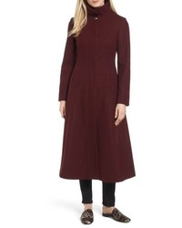 Petite full length wool blend coat medium 5209206