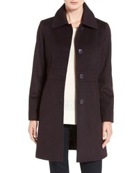 Kristen Blake Petite Wool Blend Walking Coat