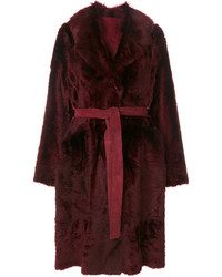 Yves Salomon Tie Coat