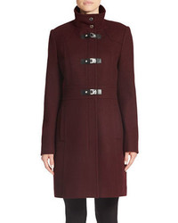 Kenneth Cole Reaction Wool Blend Toggle Coat