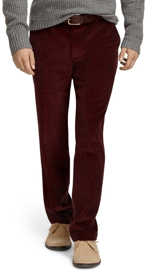 Brooks Brothers Milano 8 Wale Corduroy Pants | Where to buy & how ...