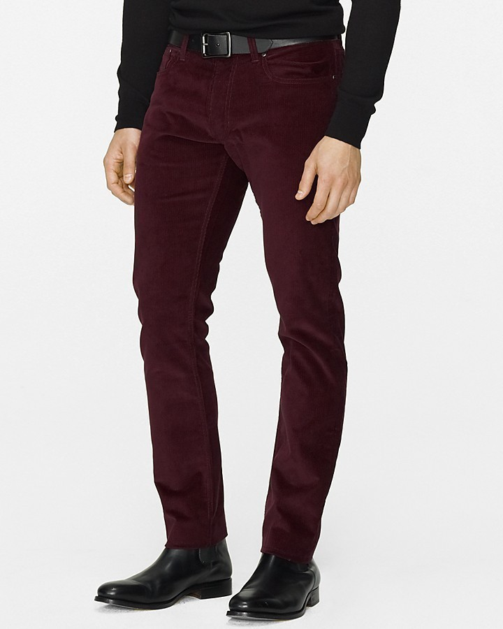 Polo Ralph Lauren Straight Fit Five Pocket Corduroy Pant | Where ...