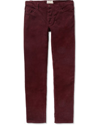 Oliver Spencer Slim Fit Corduroy Trousers