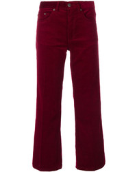 Marc Jacobs Corduroy Cropped Trousers