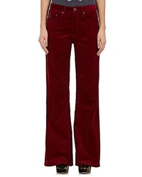 Corduroy flared pants medium 5387649