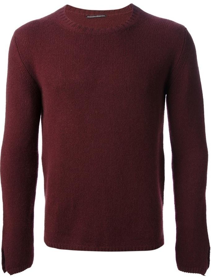 Ermanno Scervino Crew Neck Sweater