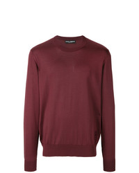 Dolce & Gabbana Crew Neck Sweater With