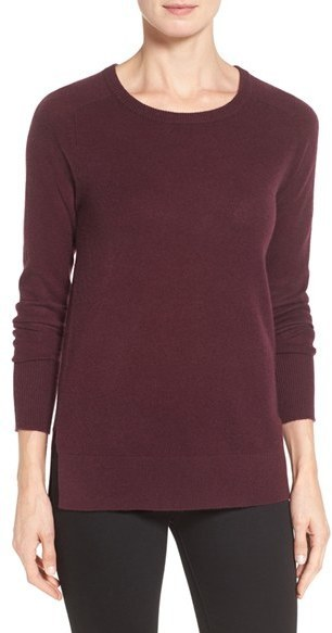 Halogen Crewneck Lightweight Cashmere Sweater | Where to buy & how ...