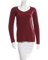 The Row Knit Scoop Neck Sweater