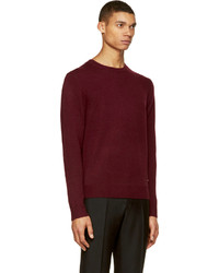Burberry London Burgundy Cashmere Sweater | Where to buy & how to wear