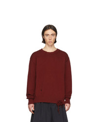 Maison Margiela Orange Gauge 5 Sweater