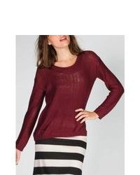 Razzle Dazzle Hi Low Sweater Burgundy In Sizes Medium X Large Small X Small Large For 226400320