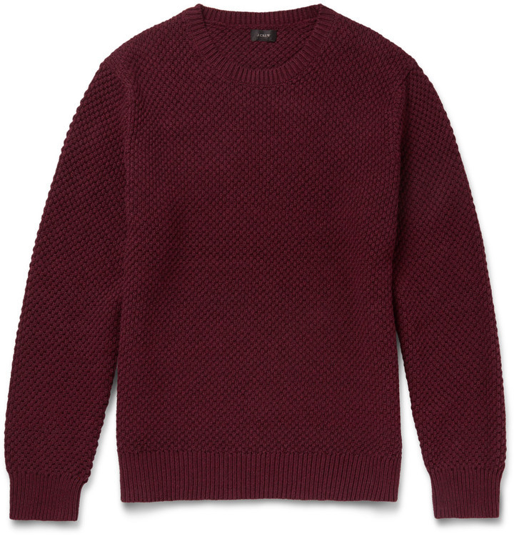 J.Crew Seed Stitch Cotton Sweater | Where to buy & how to wear