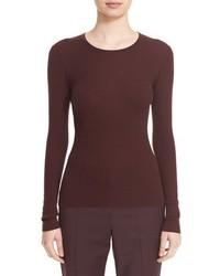 Theory Mirzi Rib Knit Merino Wool Sweater