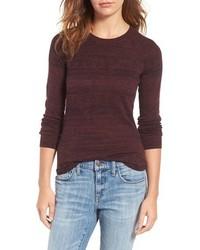 Treasurebond Distressed Fair Isle Cotton Sweater