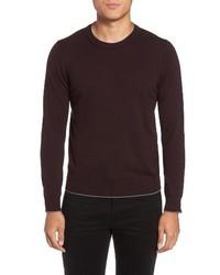 Virgin wool crewneck sweater medium 4123814