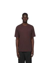 Y-3 Burgundy Ch2 Gfx T Shirt