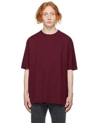 Undercoverism Burgundy Logo T Shirt