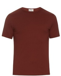 Acne Studios Eddy Crew Neck Cotton T Shirt