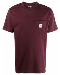Carhartt WIP Logo Patch Cotton T Shirt