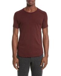 Wings + Horns Ribbed Slub Cotton T Shirt