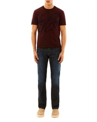 1e7a1dd1c Gucci Saddle Print T Shirt, $257 | MATCHESFASHION.COM | Lookastic.com