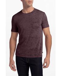 John Varvatos Star Usa Burnout Trim Fit T Shirt