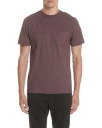 A.P.C. Stripe Pocket T Shirt
