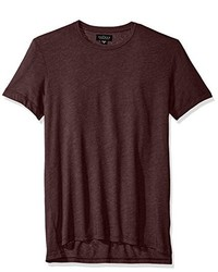 Velvet by Graham & Spencer Zealand Heathered Jersey Short Sleeve Crew Neck Shirt