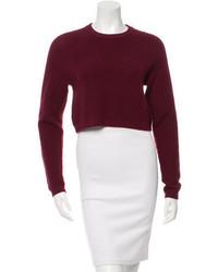Torn By Ronny Kobo Antonina Crop Sweater W Tags
