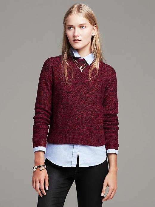 Banana Republic Back Cutout Cropped Pullover | Where to buy & how ...