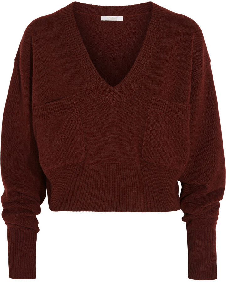 Chloé Cropped Cashmere Sweater | Where to buy & how to wear