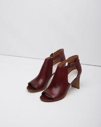 Maison margiela line 22 rectangular heel cut out boot medium 134297