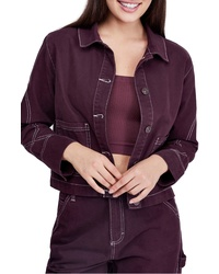 BDG Urban Outfitters Damson Utility Jacket