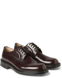 Burgundy Derby Shoes