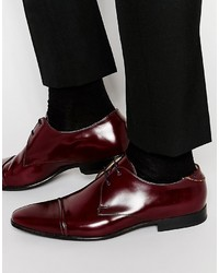Paul Smith Ps By Robin Toe Cap Derby Shoes
